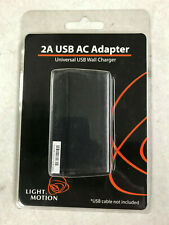 Light and Motion 2A USB AC Adapter