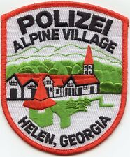 HELEN GEORGIA GA Alpine Village POLIZEI POLICE PATCH