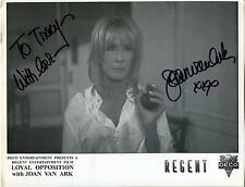 """Joan Van Ark Hand Signed """"Loyal Opposition"""" 8 1/2 x 11"""" Promo Print Autographed"""