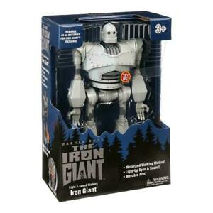 """The iron giant 15"""" sounds & movement toy walmart USA  exclusive import   new"""