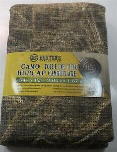"Hunters Specialties 07537 Camo Burlap 54"" x 12 ft Realtree Max 5 20564"