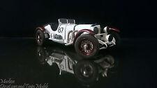 Very Rare Paul's Model Art 1:24 1931 Mercedes-Benz SSKL #87 Mille Miglia Winner