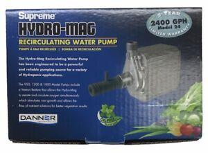 DANNER Supreme Hydro-Mag Recirculating Water Pump 40129 2400 GPH Model 24