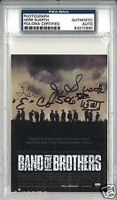 HERB SUERTH BAND OF BROTHERS 506TH PIR SIGNED PHOTOGRAPH PSA/DNA AUTOGRAPH AUTO