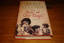 THE SUM OF OUR DAYS-A MEMOIR BY ISABEL ALLENDE-SIGNED COPY