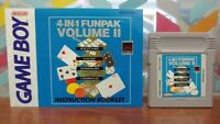 4 in 1 Funpack Volume II + Manual - Nintendo Game Boy Color GB TESTED GBC Works