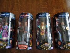 Babylon 5 Action Figures Lot Sheridan Delenn G'Kar Garibaldi 1997 Mib Exclusive