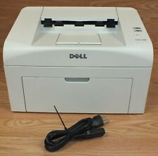 Dell 1100 Workgroup White Compact Laser Printer w/ AC Cord *FOR PARTS / REPAIR*