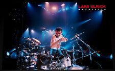 METALLICA LARS ULRICH AT DRUMKIT LIVE IN CONCERT TRIBUTE POSTER IMPORT