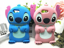 New 3D Cartoon Stitch Phone Case Soft Back Cover For Smartphone Protective Shell