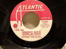 ESTHER Phillips Somebody Else Is Taking.../When Love Comes... PROMO 1966 Soul 45