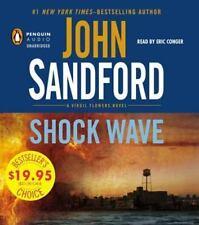 John Sandford SHOCK WAVE Unabridged CD *NEW* FAST 1st Class Ship!