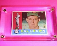 1960 Topps Hal Brown #89 Baltimore Orioles NmMt Nm-Mt Well centered sharp!