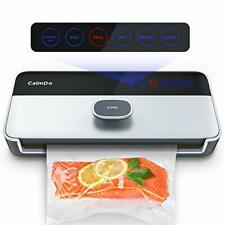 CalmDo Vacuum Sealer Machine, Automatic Vacuum Sealer, Vac Packing and Food