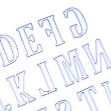 New listing 5Cm Large Big Alphabet Letters Cutting Dies Stencils Metal for Diy Scrapbooking