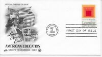 US Scott #1833, First Day Cover 9/12/80 Franklin Single Education