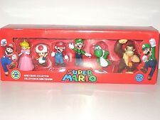 SUPER MARIO MINI FIGURE COLLECTION SET, (6 FIGURES) SERIES 2