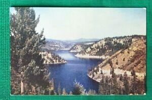 VTG Lot Idaho Postcards ~ Coeur d' Alene Lake Tubbs Hill Trail ~ Chatcolet Lake