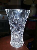 "Vintage Lenox Crystal 4"" Star Bud Vase Czech Republic Fine"