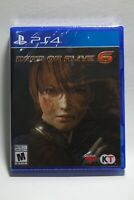 Dead or Alive 6 (Sony PlayStation 4, 2019) PS4 **BRAND NEW **