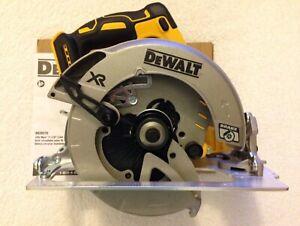 "New Dewalt DCS570B 20V 20 Volt Max XR 7-1/4"" Brushless Circular Saw With Blade"