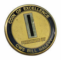 US Army CW5 Bill Halevy Challenge Coin