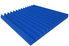 Akustikschaumstoff Blau Dreieck Lamellen Profil 5 cm Wave Panels Schallabsorber