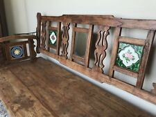 British Colonial Bench Made From Solid Teak