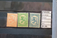 LOT STAMPS FINLAND MH* (F95350)