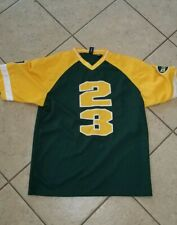 Karl Kani - Forest Green / University Gold - White Football Jersey XL NWT