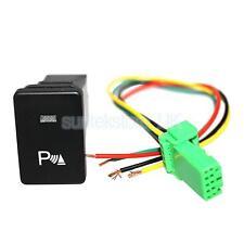 12V Push Switch White LED Parking Lights Harness For Toyota 4Runner 2010-up