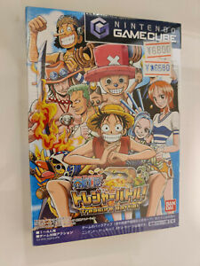 One Piece Treasure Battle Game Cube Japan Exclusive New NES Sealed MINT Rare!