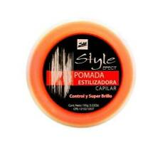 Hair styling wax with mandarin nutrient -Cera Estilizadora capilar con nutriente