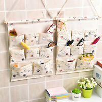 8 Pockets Door Wall Hanging Clothing Jewelry Closet Storage Bags Home Organizer
