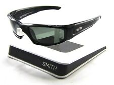 New Smith Hudson Sunglasses Gloss Black Frames/ Grey Polarized Lenses NO BOX
