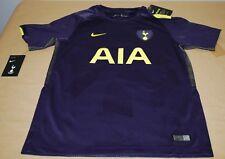 d580d1ffe00 Nike Tottenham Hotspur Youth 2017 18 Third Soccer Jersey Purple - XL