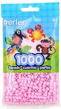 1000 Perler light pink Color Iron On Fuse Beads  80-19079