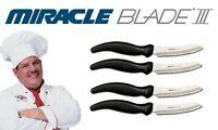 Miracle Blade III 4-Pc Steak Knife Set