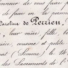 Mathilde De Perrien De Malestroit De Bruc Guyencourt 1862