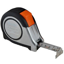 Bahco Stainless Steel Tape Measure 8 Metre 26 Foot Water Resistant High Quality