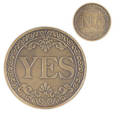 Commemorative Coin YES NO Letter Ornament Collection Arts Gifts Souvenir Luck OP