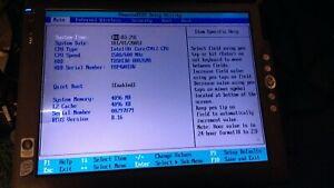 Motion Computing LE1700 C2D 4GB Toshiba 80GB T006 SXGA+ View Anywhere Screen
