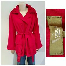 VERS Red Jacket Ladies Size 16 NWT NEW