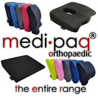 Back Cushion Range - Lumbar Support Car Seat Office Chair Travel Neck Pillow UK