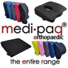 Back Cushion Range - Lumbar Support Car Seat Office Chair Travel Neck Pillow UK