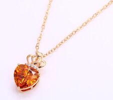 Modeschmuck-Halsketten & -Anhänger mit Herz-Legierung für Damen