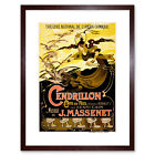 Theatre Stage Opera Cendrillon Cinderella Massanet France Framed Wall Art Print