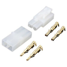 30pcs RC R/C 7.2v Tamiya Battery Male Female Connector Plug Set Gold Plated G8U4