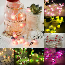 2M 20 LED Unicorn Flamingo String Lights Fairy Light Birthday Bedroom Decoration