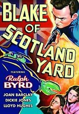 Blake of Scotland Yard - Classic Movie Cliffhanger Serial DVD Ralph Byrd